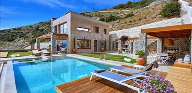 Villa Octo  - Alargo | Håndplukkede ferieboliger på Kreta, Korfu og Paros